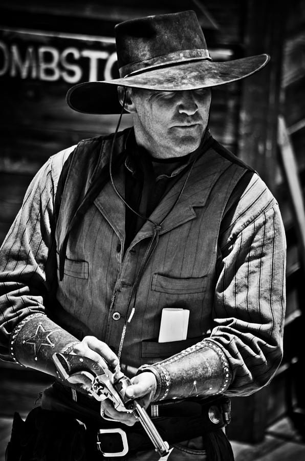 Cowboy Photograph - Make My Day by Swift Family