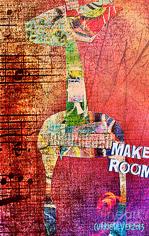 Make Room Digital Art by Currie Silver
