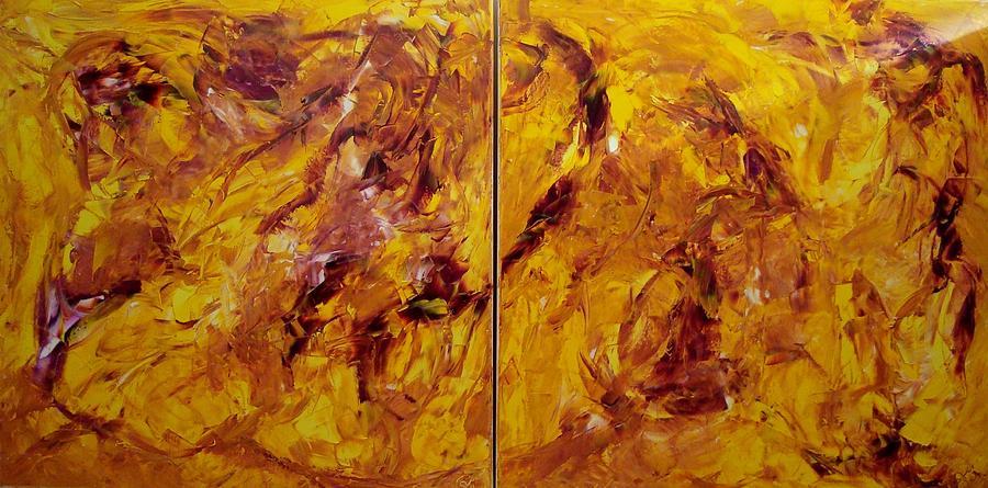 Make That Leap Painting by Gunter  Tanzerel