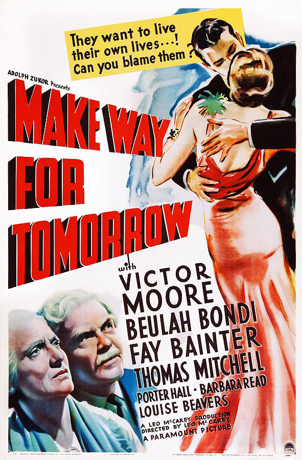 make way for tomorrow us poster photograph by everett