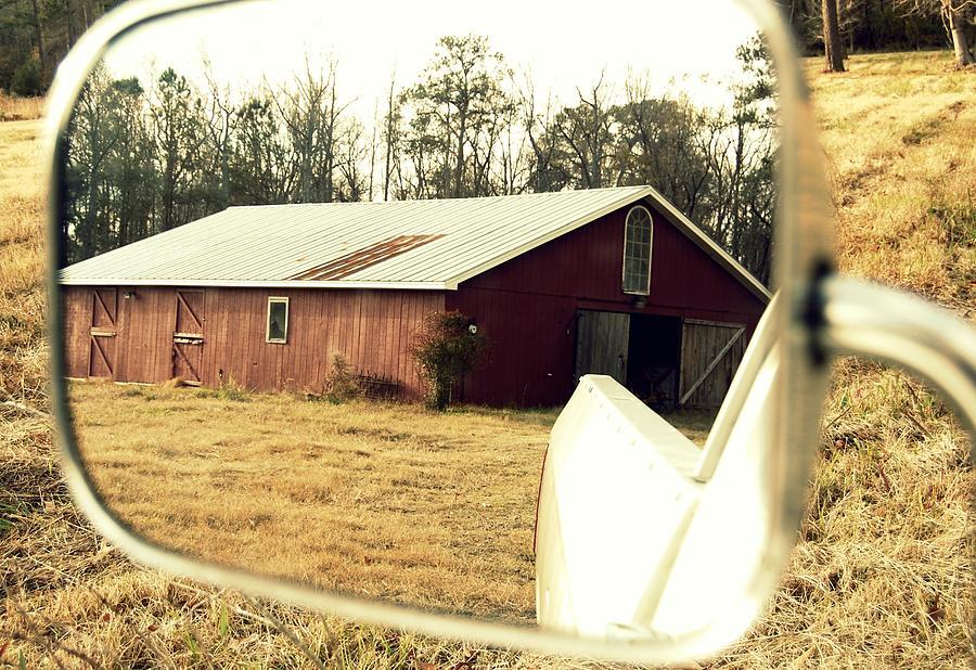 Barn Photograph - Makes Me Wanna Take A Back Road by Lila Jones
