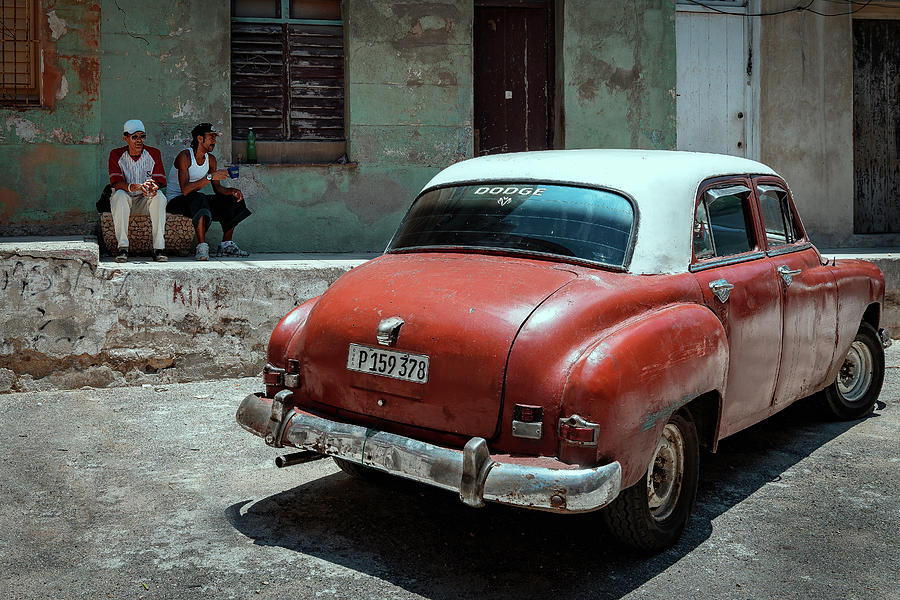 Cuba Photograph - Making A Break by Andreas Bauer