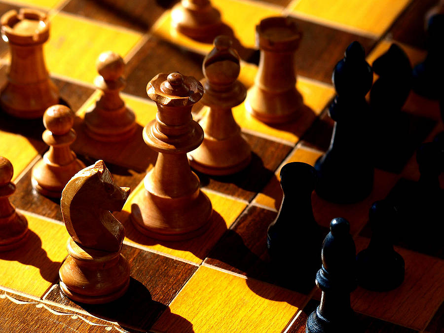 Chess Photograph - Making A Move by Camille Lopez