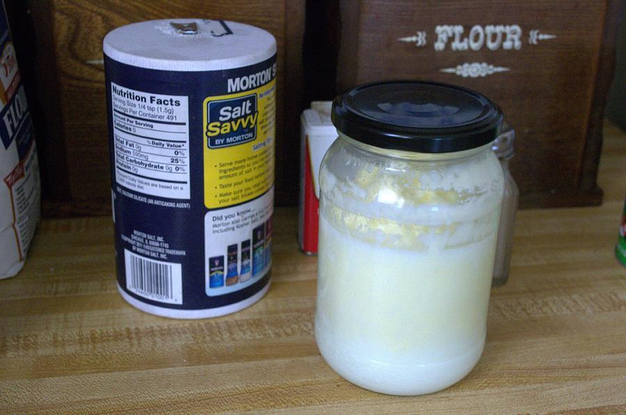 Butter Photograph - Making Butter by Michael Sokalski