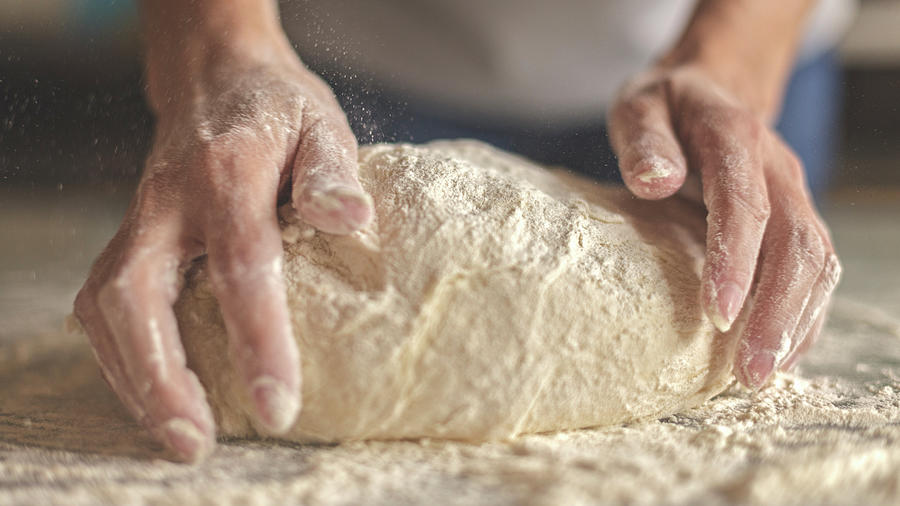 Making Yeast Dough Photograph by Nimis69