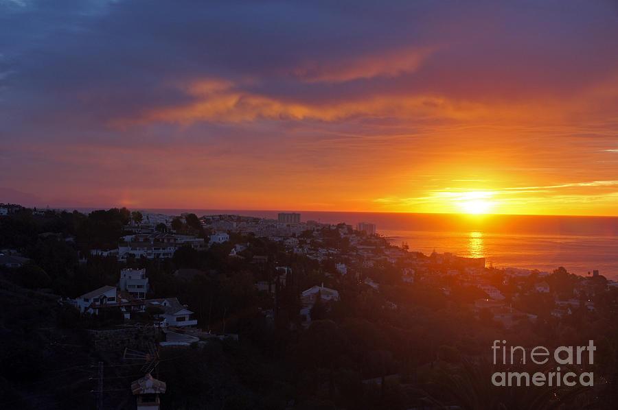 Spain Photograph - Malaga Sunrise by Rod Jones