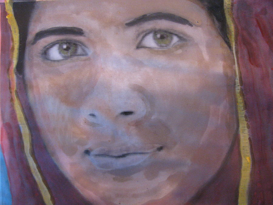 Malala Painting - Malala by Vikram Singh