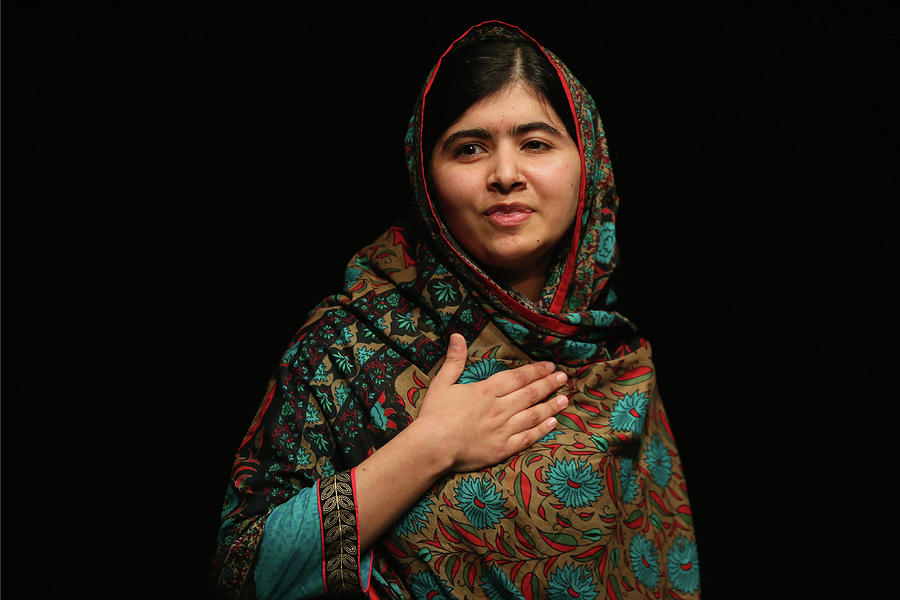 Malala Yousafzai Wins Nobel Peace Prize Photograph by Christopher Furlong