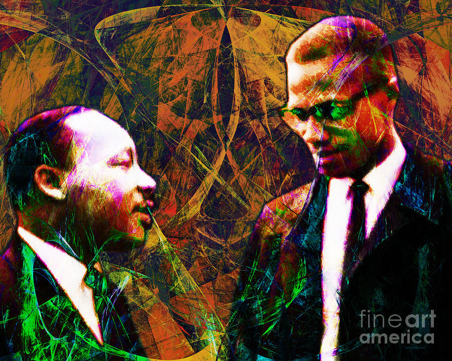 Wingsdomain Photograph - Malcolm And The King 20140205 by Wingsdomain Art and Photography