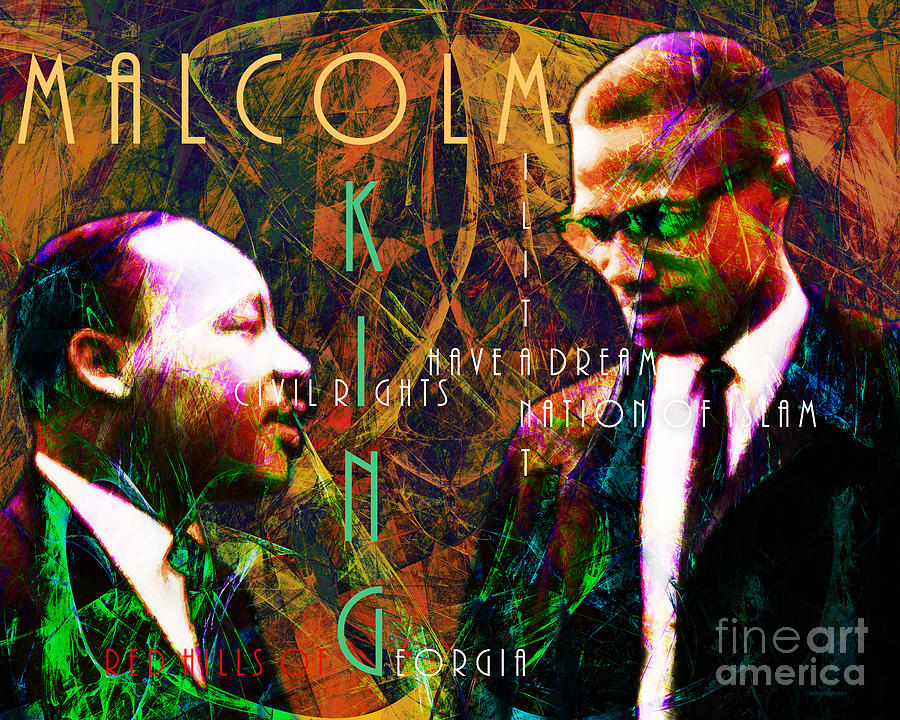 People Photograph - Malcolm And The King 20140205 With Text by Wingsdomain Art and Photography