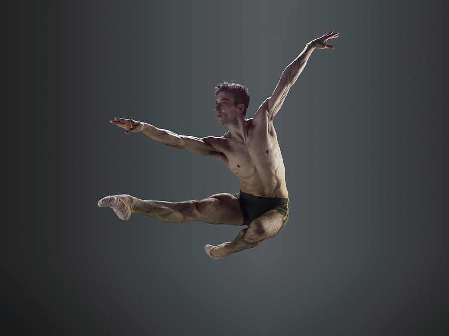 Male Ballet Dancer Performing Italian Photograph by Nisian Hughes