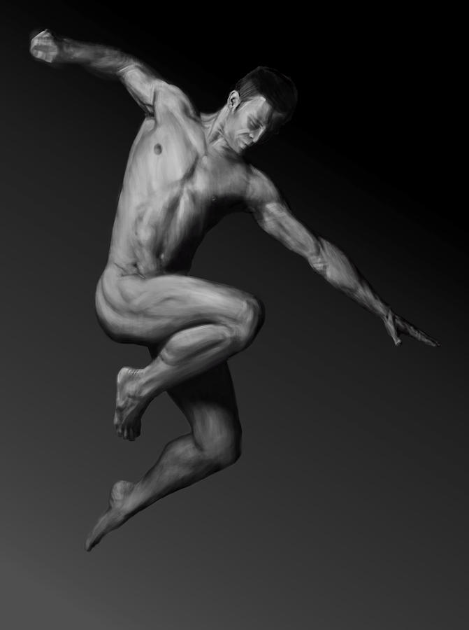 Two Naked Male Strippers Photo