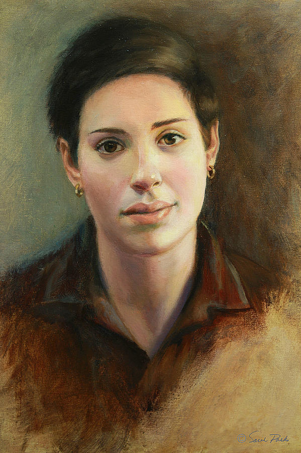 Figurative Painting - Malena by Sarah Parks