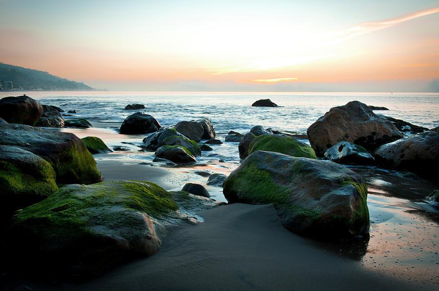 Malibu Beach At Sunrise Photograph by Jenniferphotographyimaging