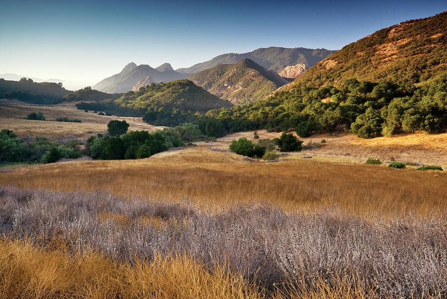 Malibu Creek State Park, From Photograph by Witold Skrypczak