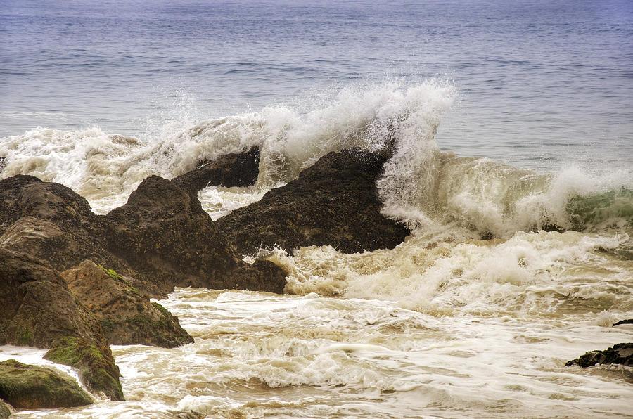 Malibu Waves Photograph