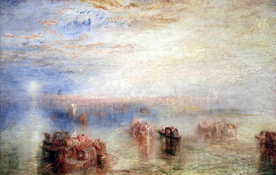 William Turner Photograph - Turners Approach To Venice by Cora Wandel