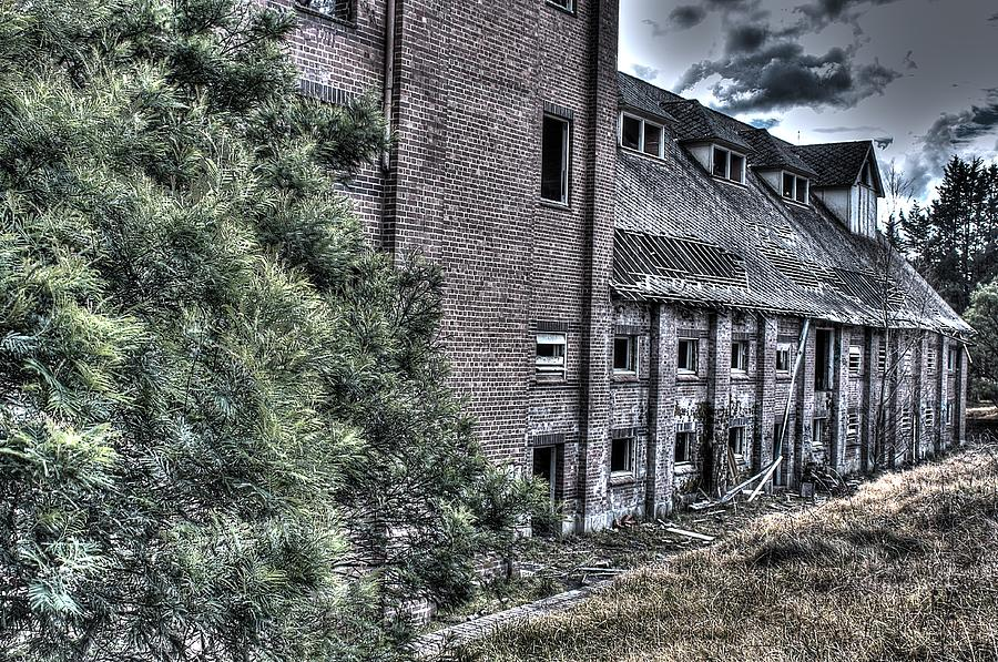 Abandoned Photograph - Malt Factory. by Ian  Ramsay