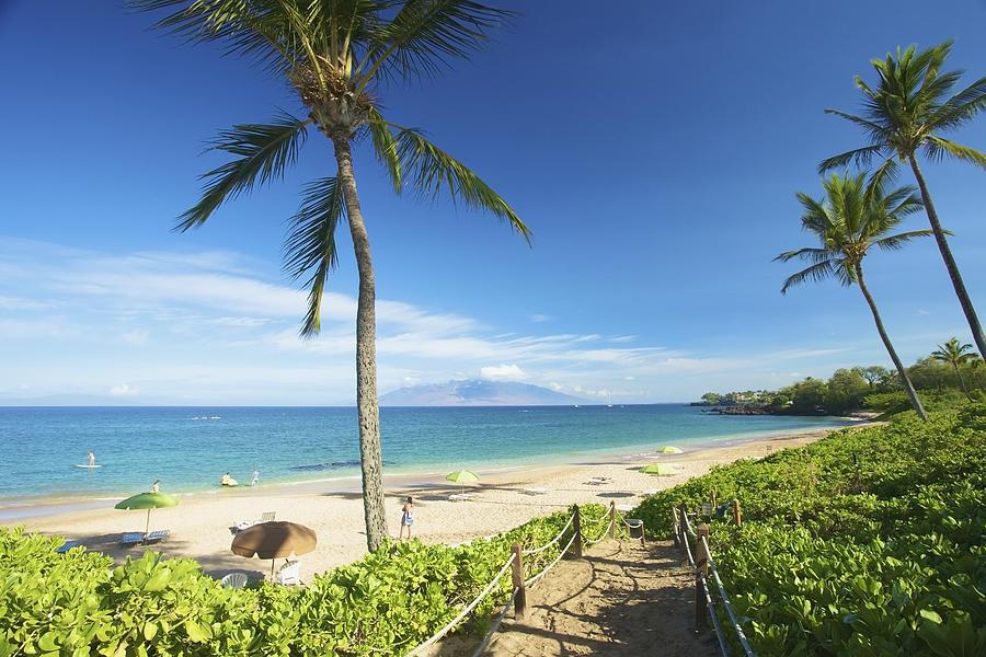 Beach Photograph - Maluaka Beach Park by Kicka Witte