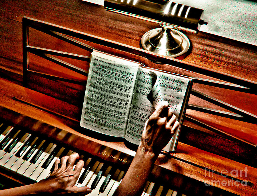 Music Photograph - Mommas Hymnal by Robert Frederick
