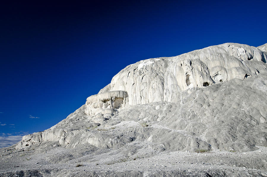 Mammoth Hot Springs Photograph