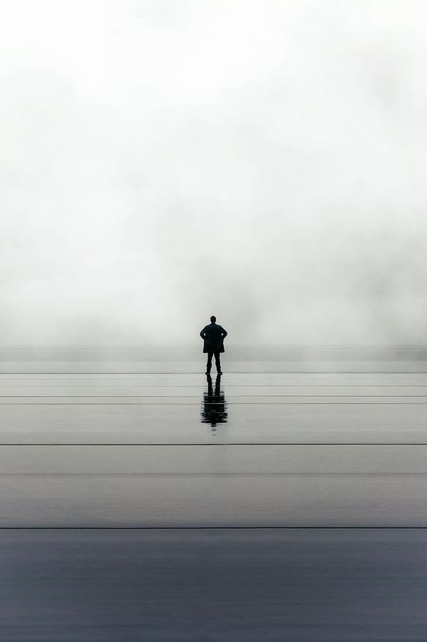 Young Photograph - Man Alone by Joana Kruse