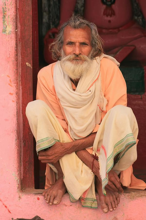 India Photograph - Man From India by Amanda Stadther