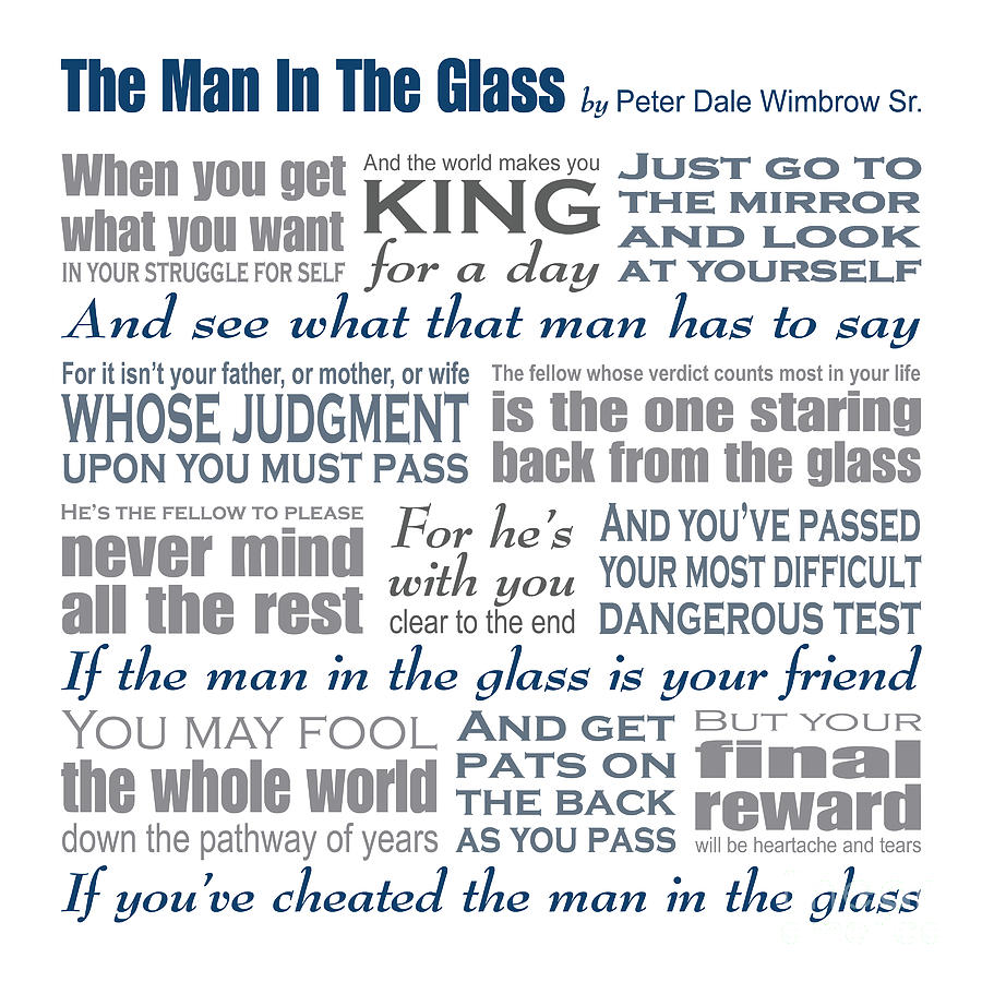 the guy in the glass poem