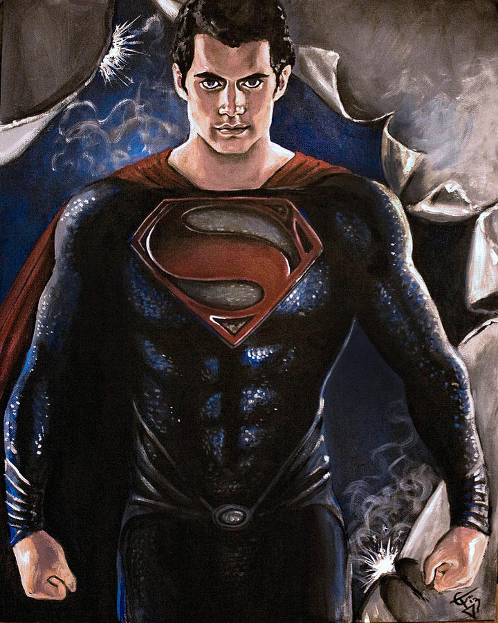 an analysis of the painting the man of steel Even before man of steel was officially announced to the public, comic book movie fans had long been debating whether the film would - or should - seek to incorporate chris nolan's dark knight trilogy now that the film has arrived, we know for certain that batman isn't a player in the story.