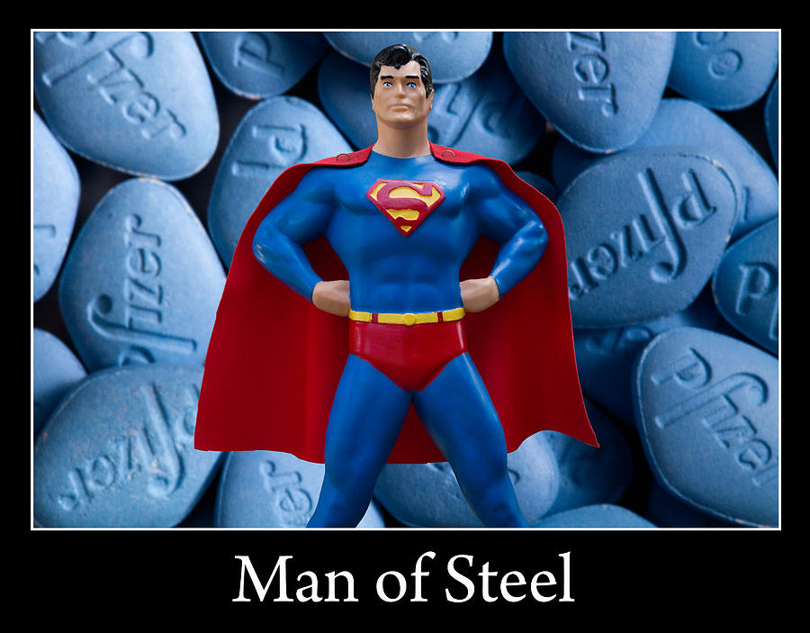 Man Of Steel Photograph - Man Of Steel by William Patrick