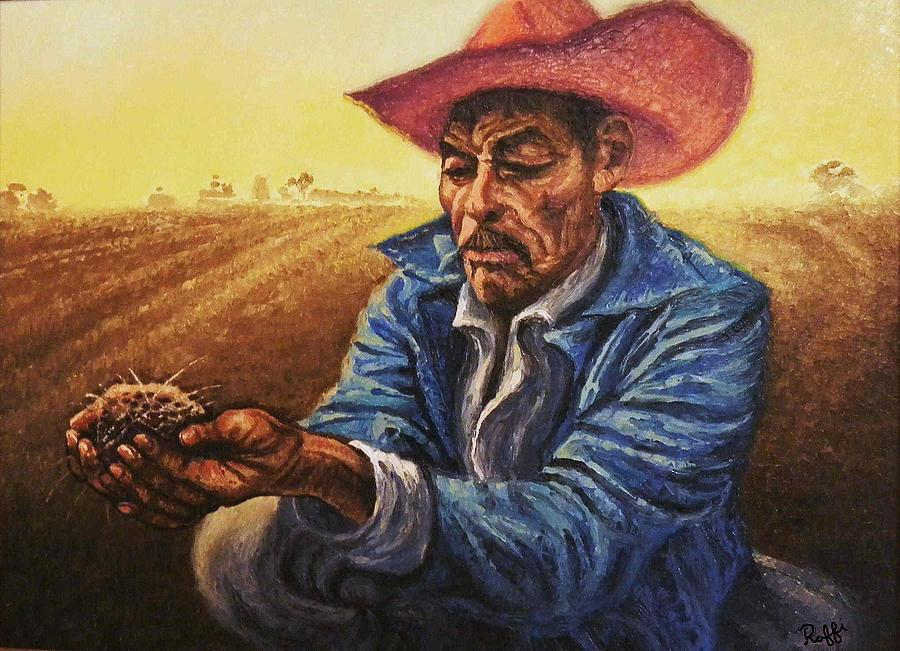 Man Of The Soil Painting By Raffi Jacobian
