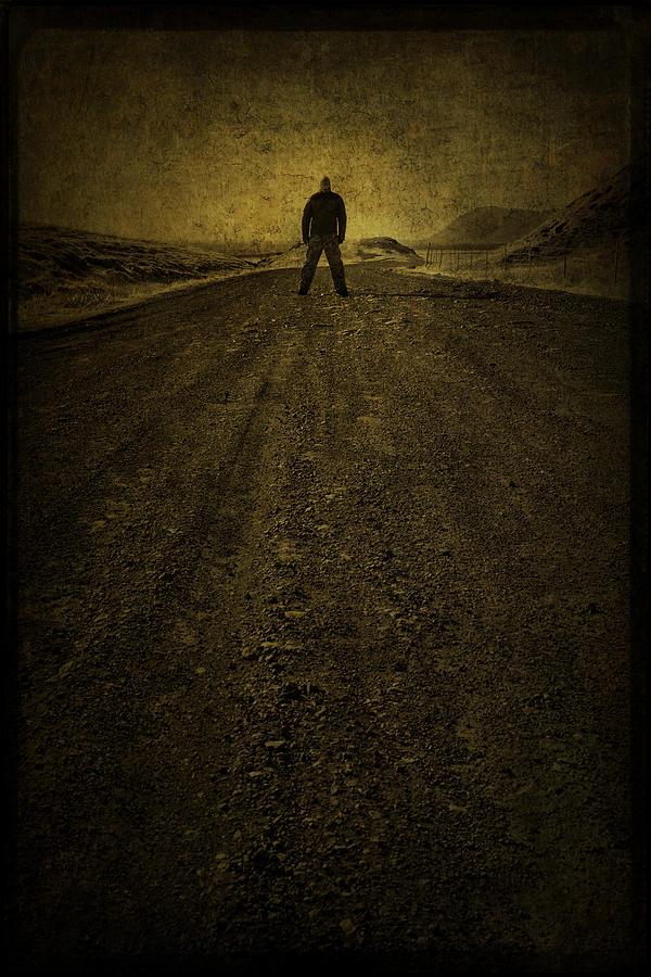 Man Photograph - Man On A Mission by Evelina Kremsdorf