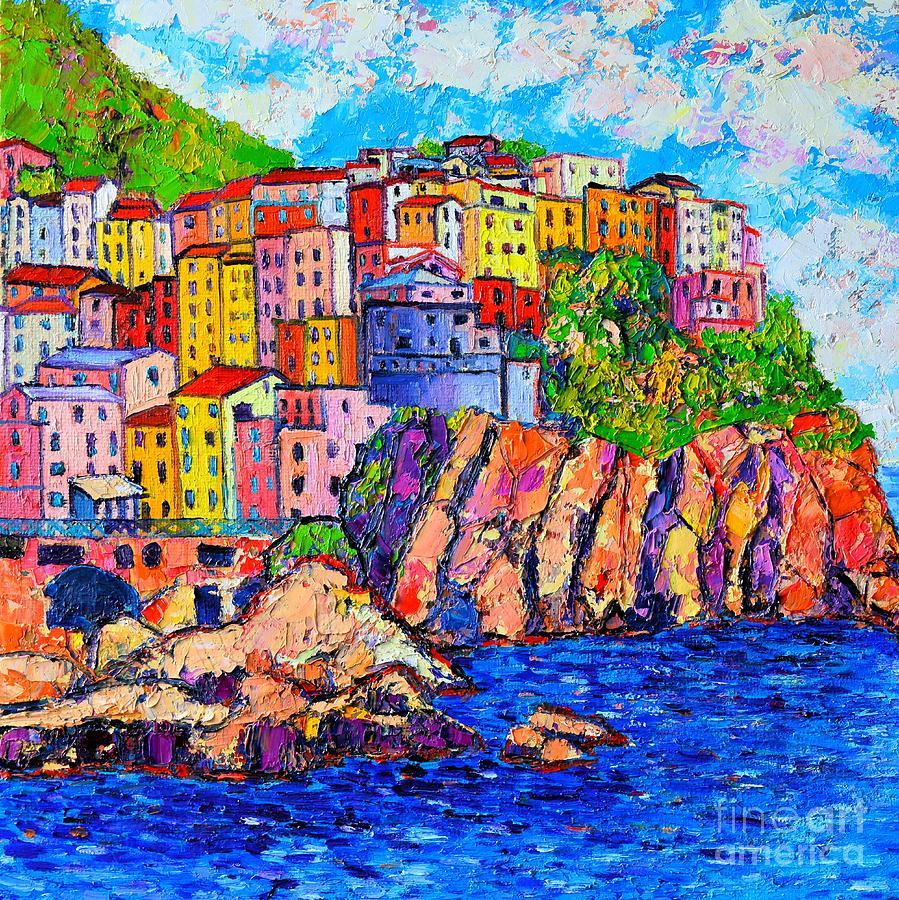 Cinque Terre Canvas Painting
