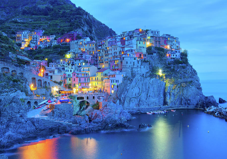 Manarola Photograph by M Swiet Productions