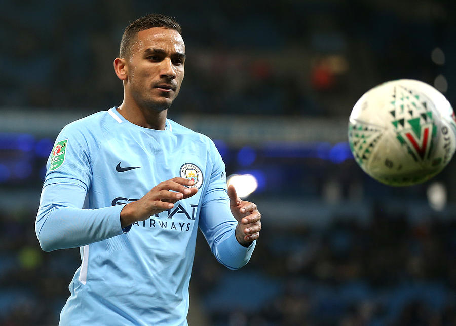 Manchester City v Bristol City - Carabao Cup Semi-Final: First Leg Photograph by Victoria Haydn