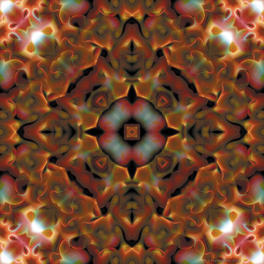 Healing Digital Art - Mandala 119 by Terry Reynoldson