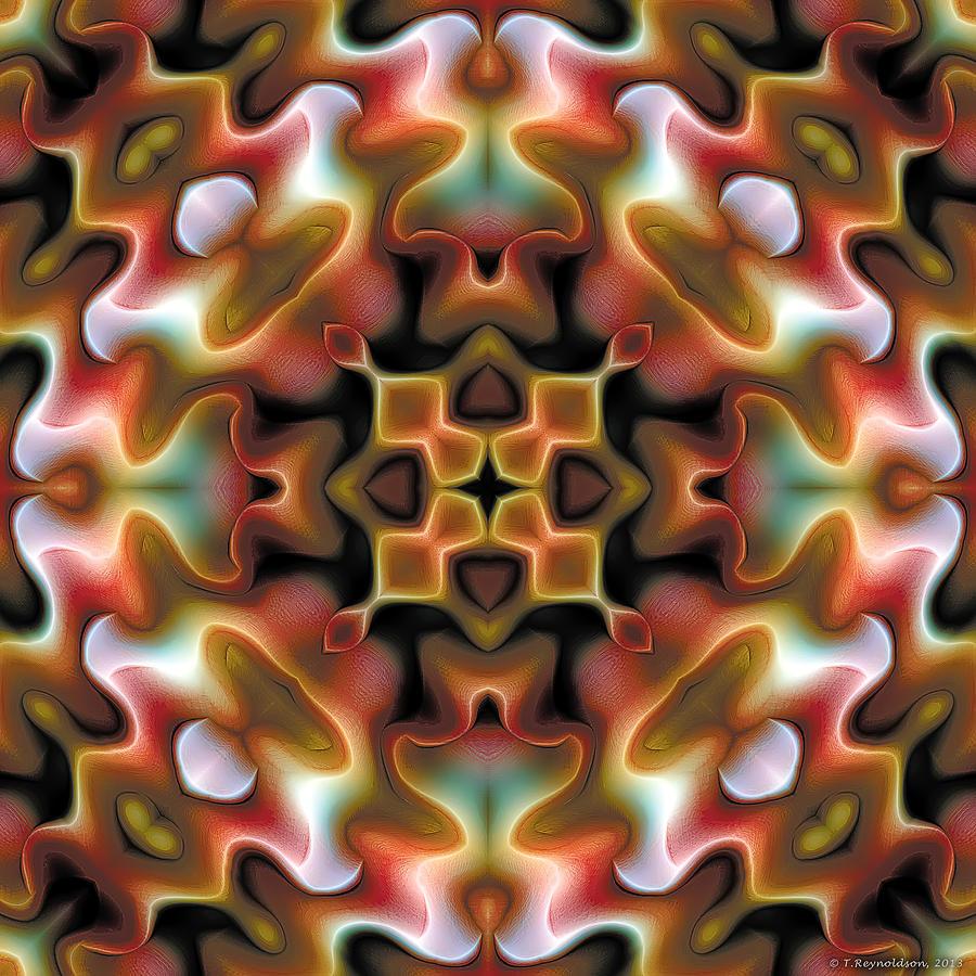 Sacred Geometry Digital Art - Mandala 76 by Terry Reynoldson