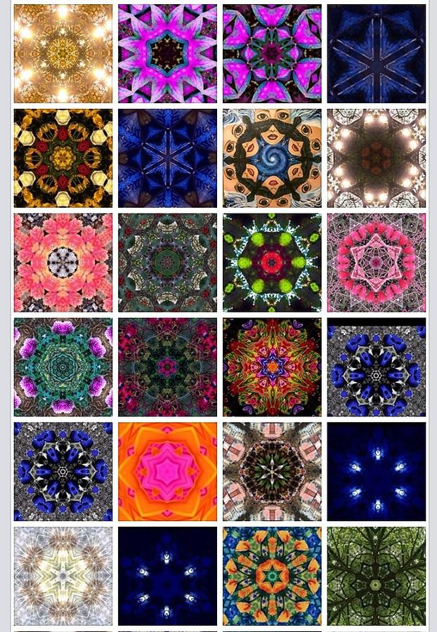 Mandala Quilt Digital Art By Julia Gatti