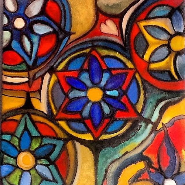 Mandalas Painting - Mandalas Vintage by Sandra Lira