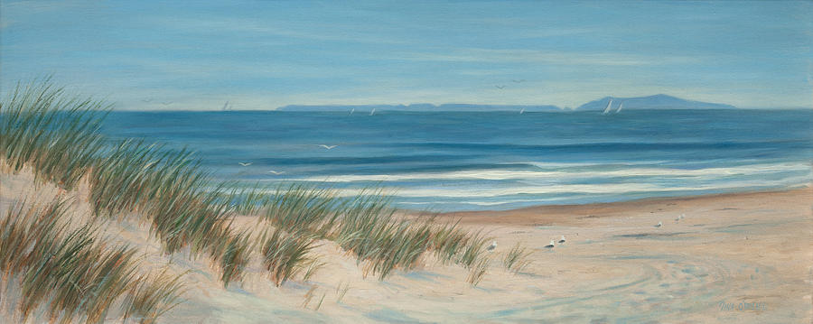 Seascapes Painting - Mandalay Beach by Tina Obrien