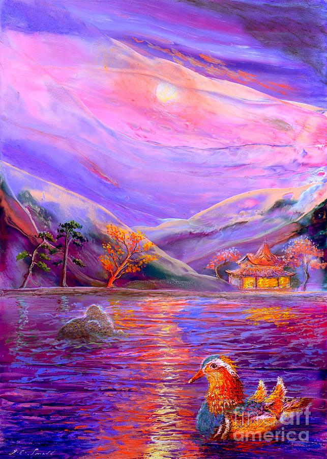 Mandarin Painting - Mandarin Dream by Jane Small