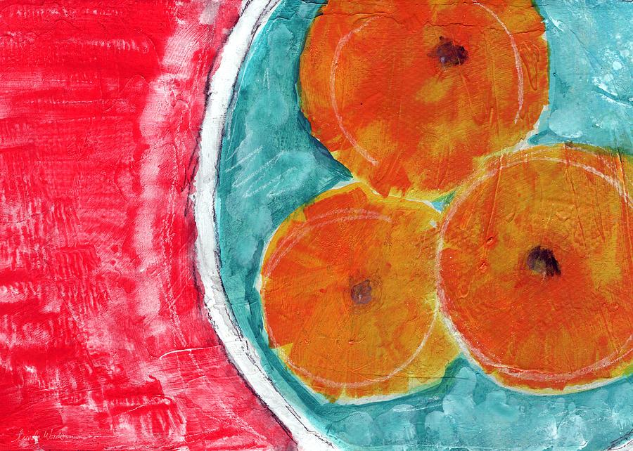 Mandarins Painting