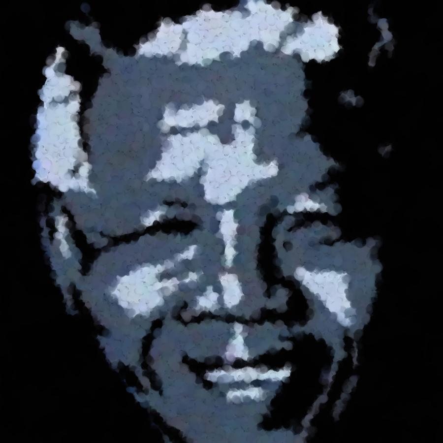 Mandela Digital Art - Mandela by Asbjorn Lonvig