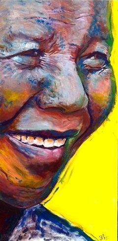 Nelson Mandela Painting - Mandela by Scott Pallack