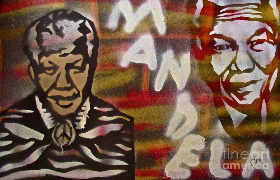 Nelson Mandela Painting - Mandela by Tony B Conscious