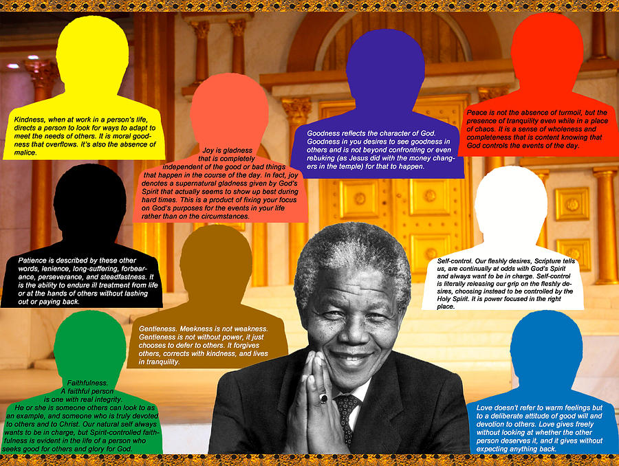 Mandela Photograph - Mandelas Rainbow by Terry Wallace