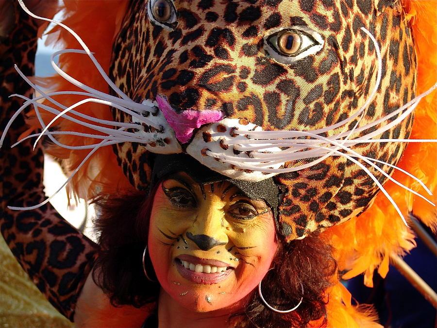 Mandinga Carnival Leopard  Photograph by Pax Nindi