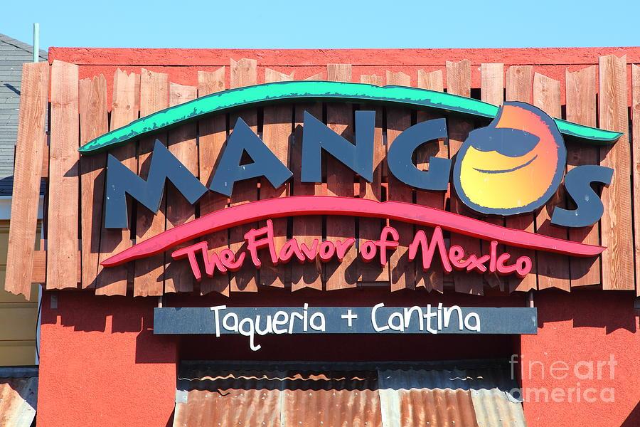 San Francisco Photograph - Mangos Restaurant At San Francisco California 5d26091 by Wingsdomain Art and Photography