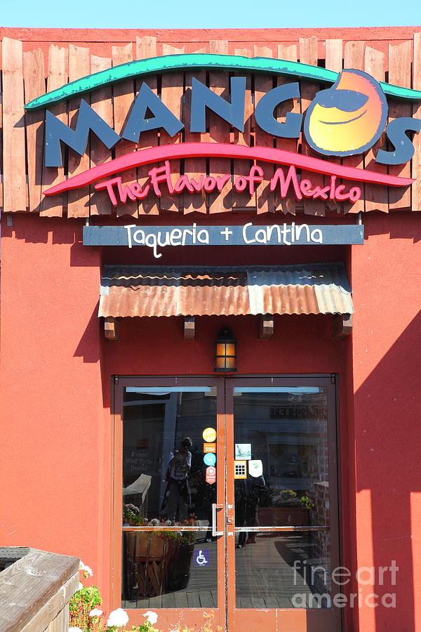 San Francisco Photograph - Mangos Restaurant At San Francisco California 5d26092 by Wingsdomain Art and Photography