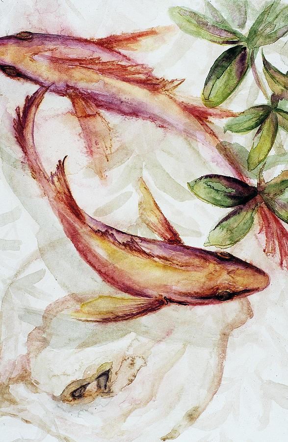 Florida Keys Painting - Mangrove Pisces by Ashley Kujan